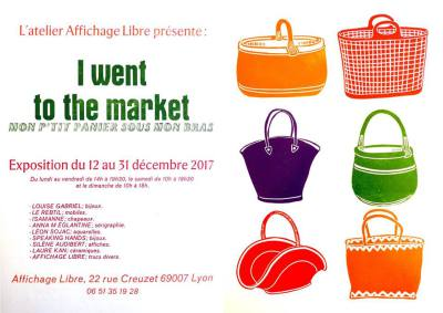 Venez découvrir l'exposition «I went to the market», mon ptit'panier sous le bras !