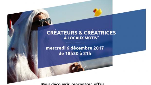 Locaux Motiv' vous convie le 6/12 pour son traditionnel marché aux créations