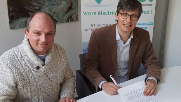 Partenariat entre Lyon 7 Rive Gauche et Energie d'Ici