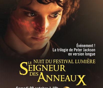 La nuit du Festival Lumière à la Halle Tony Garnier