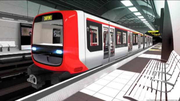 Automatisation en cours de la ligne B du métro