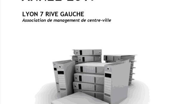 Lyon 7 Rive Gauche publie son rapport d'activité 2019